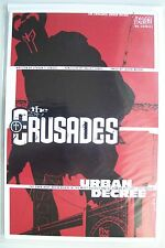 THE CRUSADES URBAN DECREE DC Vertigo Graphic Novel