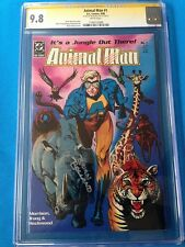 Animal Man #1 - DC - CGC SS 9.8 NM/MT - Signed by Brian Bolland