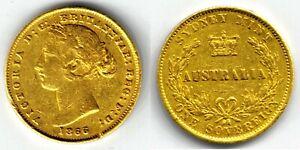 1866 Sydney Mint Gold coin Sovereign !!!