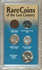 RARE COINS OF THE LAST CENTURY ~ SET OF 5 ~ VINTAGE COINS FROM THE 20th CENTURY