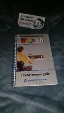 """COMMODORE VIC-20 """"PERSONAL COMPUTING ON THE VIC-20 A FRIENDLY COMPUTER GUIDE"""""""