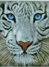 "Diamond Dotz Complete White Tiger Diamond Facet Art Kit ""White Magic"""