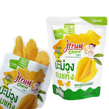 Thai Fruit Products Casual Snacks Mango Dried Fruit Food  Natural halal 50 g.