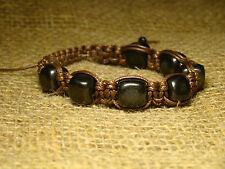 shungite bracelet from cubes of Karelia magic stone talisman amulet aura health