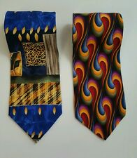 Lot of 2 Cocktail collection neck ties