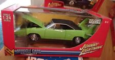 1/24 Johnny Lightning Musclecars 1970 Plymouth Superbird Lime Green/Black MIB