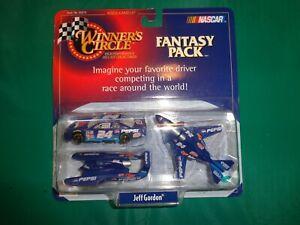 Winners Circle Jeff Gordon Pepsi Fantasy Pack Car/Plane/Boat #55595 Die Cast