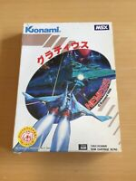 Rare Japanese MSX GRADIUS NEMESIS Retro Gaming Cartridge Video Game Boxed Tested