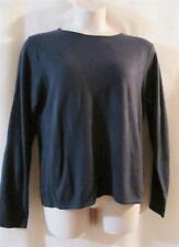 MAGGIE SWEET 100% Acrylic Slate Blue/Gray Crew Neck Sweater - SOFT - XL-  NWOT