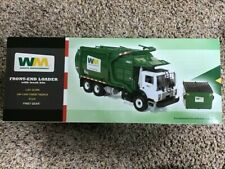 NEW! First Gear Garbage Truck 1:34 Scale Mack Waste Management Front-Loader 1/34