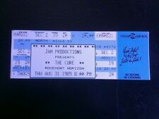 The Cure Ticket 8/31/1989 Rosemont Horizon Chicago WHILE SUPPLIES LAST!