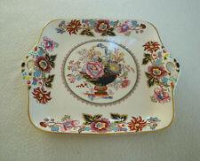 Superb Mason's Brocade VINTAGE square handled Cake / sandwich / serving Plate