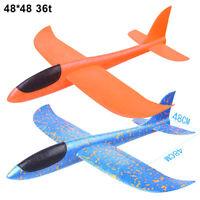DIY Hand Launch Throwing Glider Aircraft Foam EVA Airplane Plane Model Kids Toy