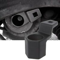 Black 50MM Hex Crankshaft Crank Pulley Holding Wrench Socket Tool For Honda