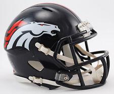 DENVER BRONCOS NFL Riddell Speed Mini Football Helmet