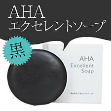 AHA Excellent Soap (black) / 100g