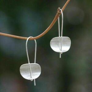 925 Silver Jewelry Woman Silver Hook Earrings Dangle Drop Hook Eardrop A Pair