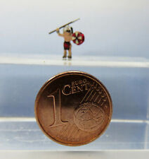 (US02) Warrior - Indians with Spear and Shield Figurine Gauge Scale Z (1:220)