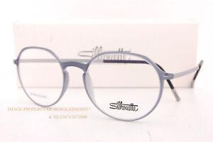 New Silhouette Eyeglass Frames URBAN LITE FULLRIM 2918 6510 Neutral Grey Unisex