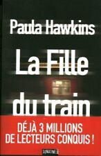 Livre la fille du train Paula Hawkins book