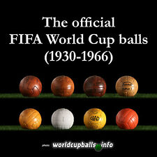 THE PRE-ADIDAS HISTORICAL MATCH BALL SET (1930-1966 FIFA World Cup balls)