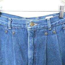 ec0ad093 LEEs Womens Blue Mum High Waist Pleated Jeans, 14, (28/28)