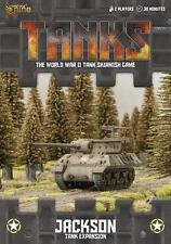 Gale Force Nine BNIB TANKS US Jackson (M10/M36) Tank Expansion GFNTANKS25
