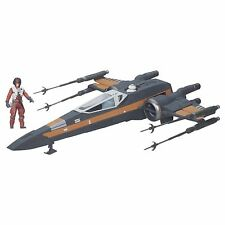 Star Wars The Force Awakens POE'S X-WING FIGHTER with Poe Dameron Xmas Gift New