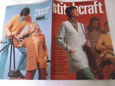 ORIGINAL, VINTAGE, STITCHCRAFT MAGAZINE,  MAY 1971 No. 449