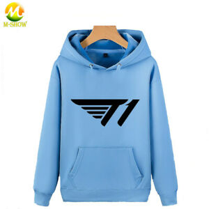 SKT Jersey Jacket Velvet Faker Uniform LOL SKT T1 Team Sweatshirt Cotton Hoodie