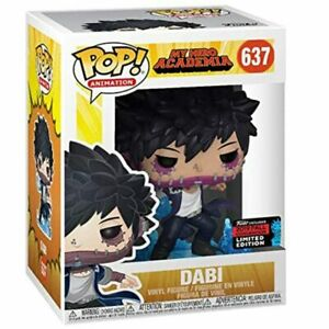 My Hero Academia Dabi #637 Pop Limited Edition Dolls Figure Model Toy Gift UK