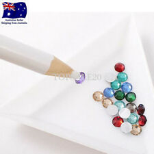 5Pcs Nail Art Picker Pencil Beads Rhinestones Dotting Pick up Wax Pen