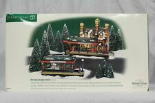 "Department 56: Dickens Village: ""Old Queensbridge Station"" #56.58443"