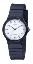 Casio Classic Mens Ladies -Casual Style White Dial Black Wrist Watch MQ24-7BLL