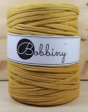 Bobbiny `Stoffgarn Senf Ton` Neu Baumwolle, Häkeln,Stricken wie Hooked 910