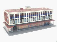 Großes Kaufhaus  BELEUCHTET Spur N C1195