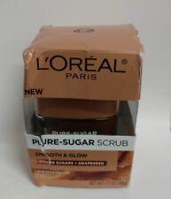 L'Oréal Paris Pure-Sugar Scrub, 1.7 oz - Damaged Packaging