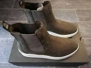 Timberland BNIB Ladies Berlin Park Chelsea Olive Nubuck Boots Shoes UK6