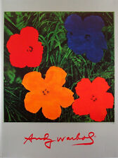 ANDY WARHOL - Flowers, 1964 - POP ART PRINT Offset Lithograph Poster