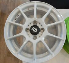Sparco 1 Piece Wheel Rim 15x6 4x100 White