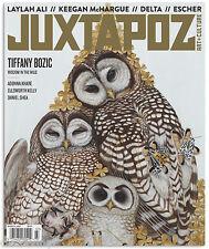 Juxtapoz #182 Tiffany Bozic Laylah Ali Keegan McHargue Delta Escher Daniel Shea