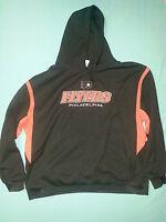 Philadelphia Flyers NHL Black Hoodie Sweatshirt Adult 2XL XXL