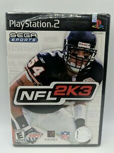 NFL 2K3 Playstation 2 PS2 Video Game New Sealed