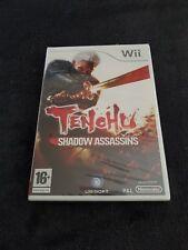 Nintendo Wii Tenchu Shadow Assassins FAH neuf sous blister