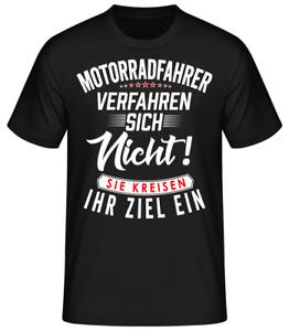 Motorrad T-Shirt Bike Chopper Shirt Geschenk Lustig Fun Verfahren sich nicht