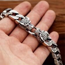 925 sterling silber Leopard Armband Herren 21cm 64g echt sterling silber 128€