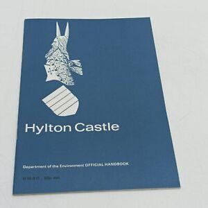 Vintage 1970s HMSO Hylton Castle Official Handbook Guide DoE (1979) Sunderland
