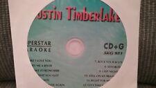 Justin Timberlake Karaoke SKG-951 SuperStar CDG
