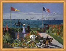 Terrasse von Sainte Adresse Claude Monet Familie Vater Segelschiffe LW H A1 0428