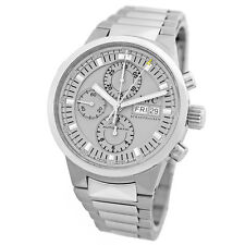 IWC Stainless Steel 43mm GST Rattrapante Split Second Chronograph 3715 Warranty